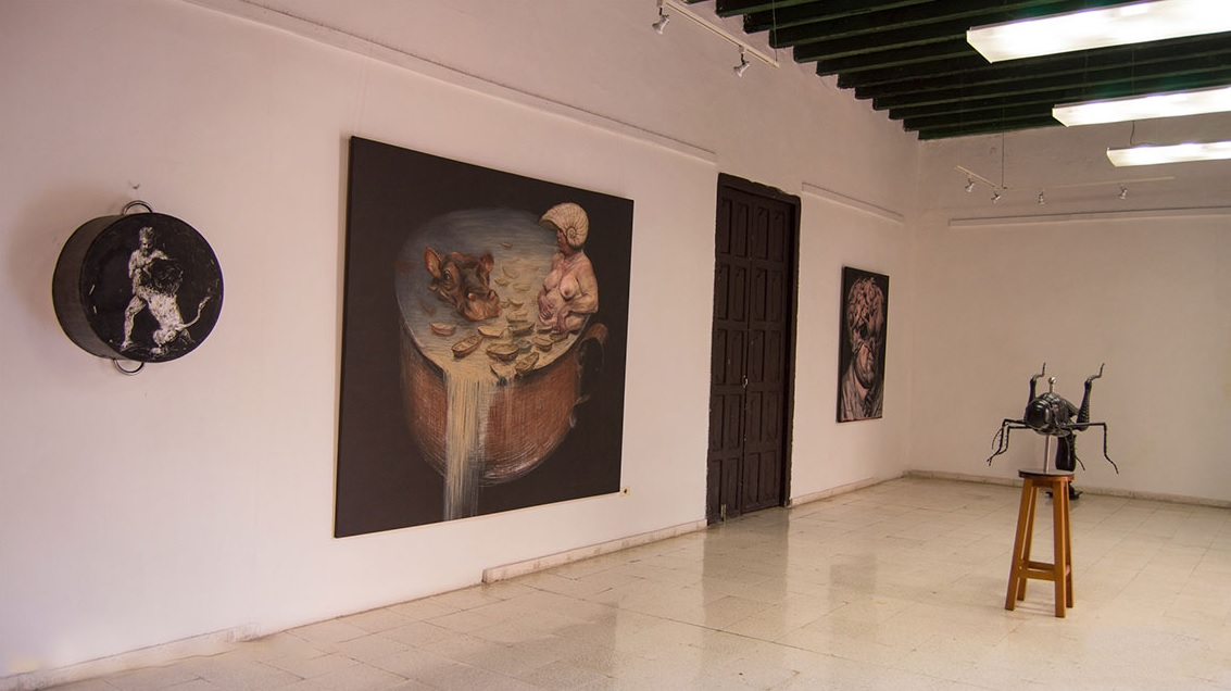 The art of contemporaneity - The art of contemporaneity in private