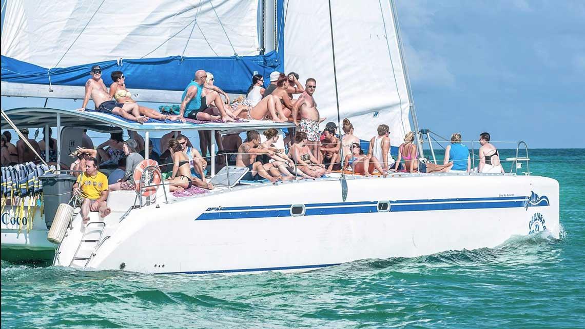 Catamaran to Cayo Blanco from Varadero<br /><strong>Colectiva</strong>